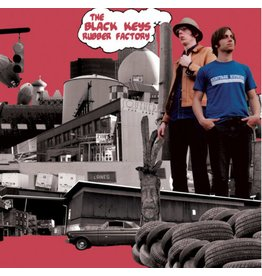 Fat Possum Records The Black Keys - The Rubber Factory