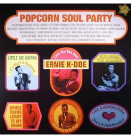 Outta Sight Various - Popcorn Soul Party: Blended Soul And R&B 1958-62