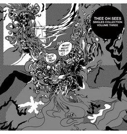 Castle Face Records Thee Oh Sees - Singles Vol. 3 (White Vinyl)