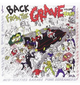 Crypt Records Various - Back From The Grave Vol. 4