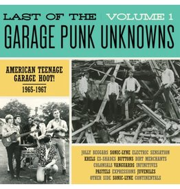 Crypt Records Various - Last Of The Garage Punk Unknowns Vol. 1