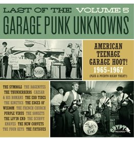 Crypt Records Various - Last Of The Garage Punk Unknowns Vol. 5