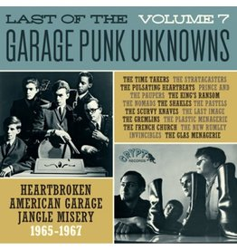 Crypt Records Various - Last Of The Garage Punk Unknowns Vol. 7