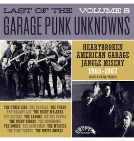 Crypt Records Various - Last Of The Garage Punk Unknowns Vol. 8