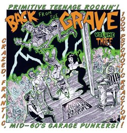 Crypt Records Various - Back From The Grave Vol. 3