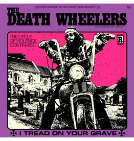 Riding Easy Records Death Wheelers - I Tread On Your Grave