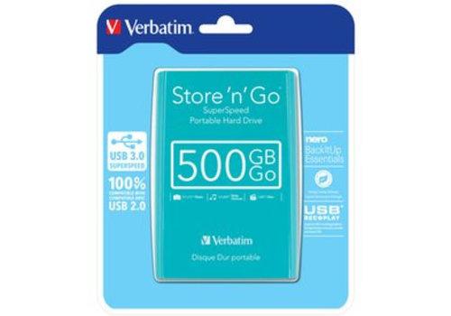 Verbatim Store N Go 2,5 500 GB Green