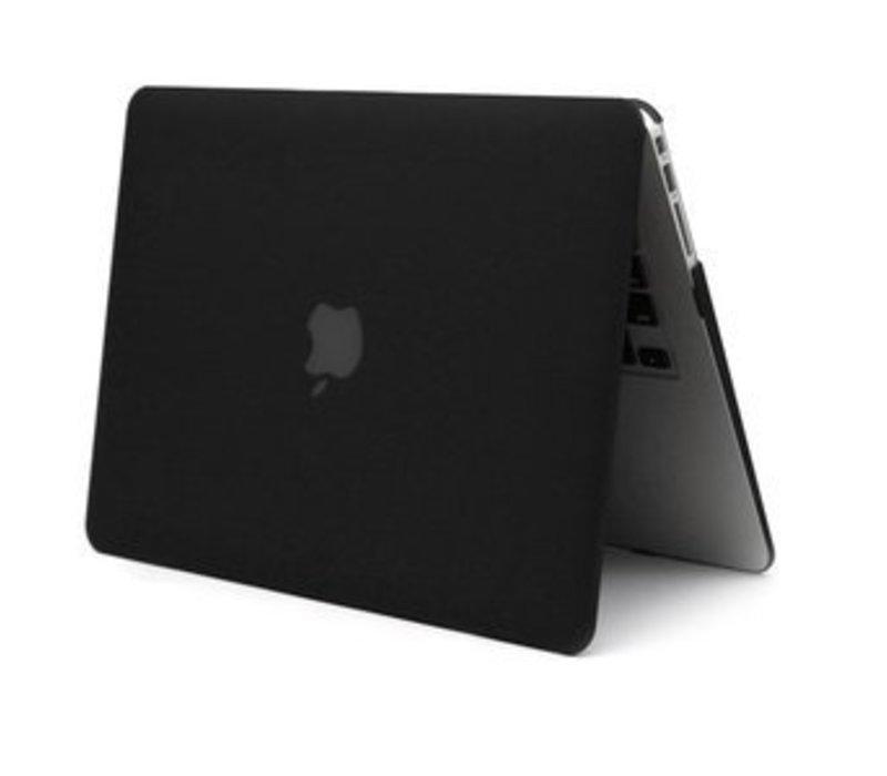 Macbook 12 Hard Case Cover (Black) voor Apple Macbook 12 Inch