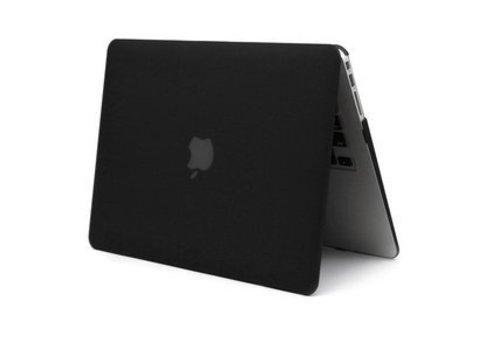 Blu-Basic MacBook Air 13 Hard Plastic Case (Zwart)