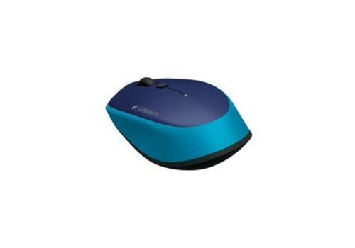 Logitech M335 Draadloze Optische Muis - Blauw