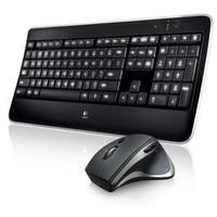 MX800 Draadloos Toetsenbord + Muis US Zwart