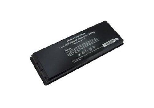 Replacement parts Laptop Accu Zwart 5100mAh voor Macbook 13inch A1181-blk. 2006/2007/2008/2009