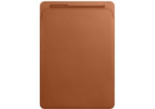 Apple Leather Sleeve iPad Pro 12.9 Inch - Saddle Brown