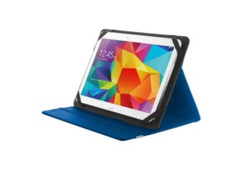 Trust Primo Folio Case voor 10 inch Tablets - Blauw