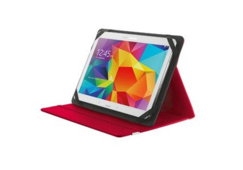Trust Primo Folio Case voor 10 inch Tablets - Rood