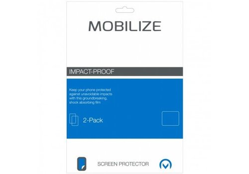 Mobilize Impact-Proof 2-pack Screen Protector Apple iPad Air voor Apple iPad Air / Air 2/ iPad 2017  / Air 2/ iPad 2017