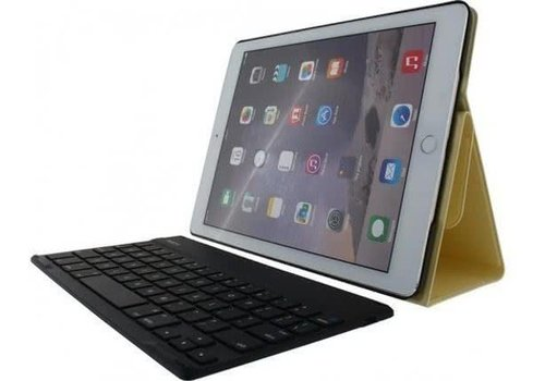 Rock Detachable Bluetooth Keyboard Case Apple iPad Air 2 Goud