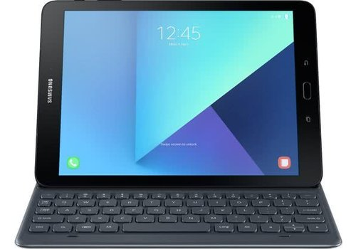 Samsung Tab S3 Book Cover incl. Toetsenbord - Wit