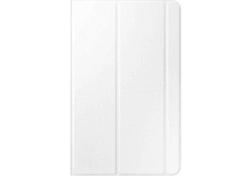 Samsung Tab E Book Cover White