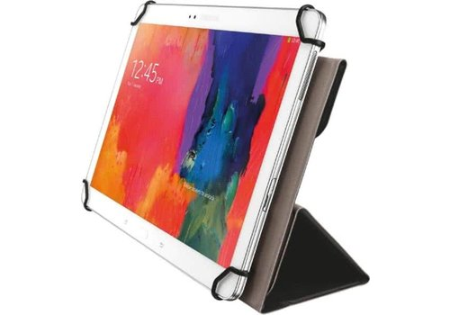 Trust Aexxo Universele Folio Case voor 10.1 Inch tablets Zwa