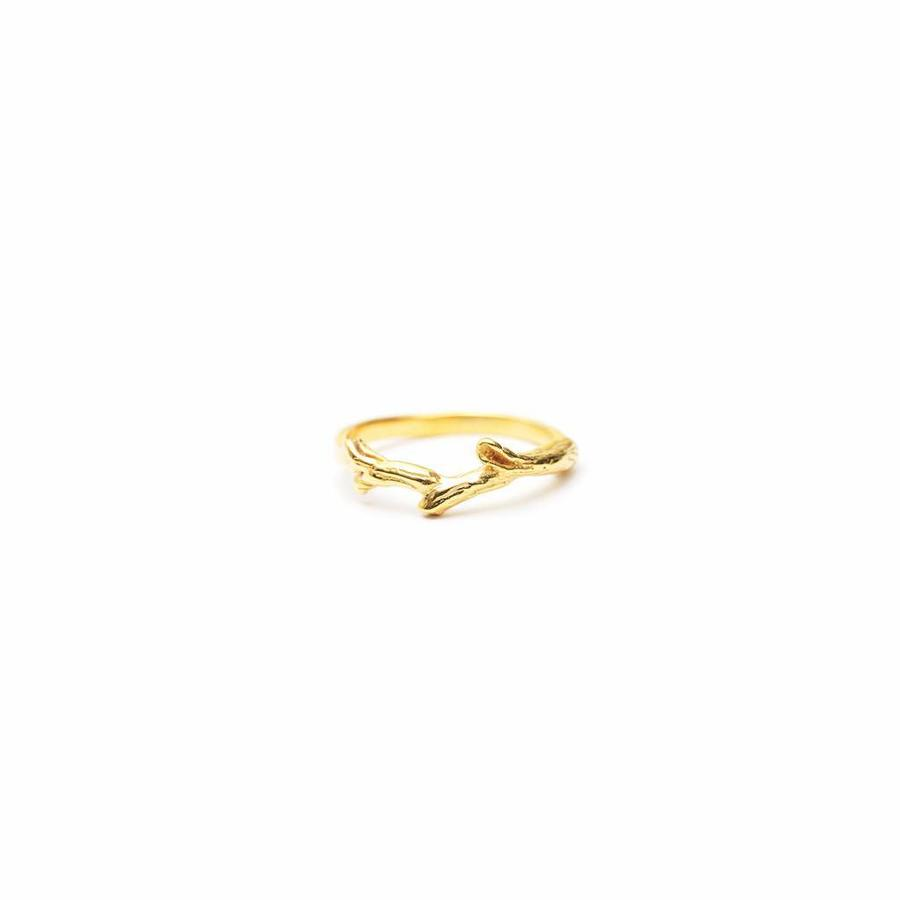 Breathe Ring Gold