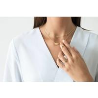 thumb-Reverie Ring Goud Zwart-2