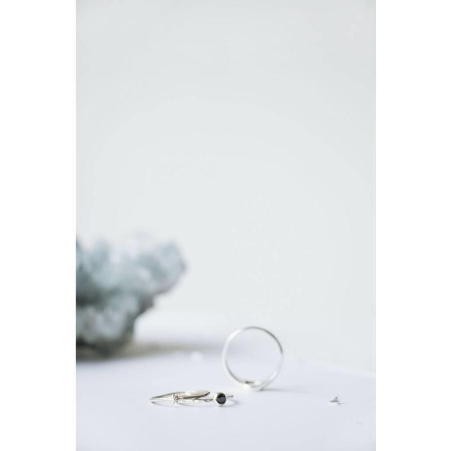 Reverie Ring Goud Zwart-3