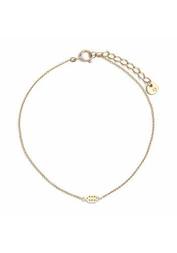 The Jordaan Armband 18krt Goud