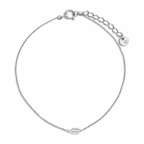 The Jordaan Bracelet Silver