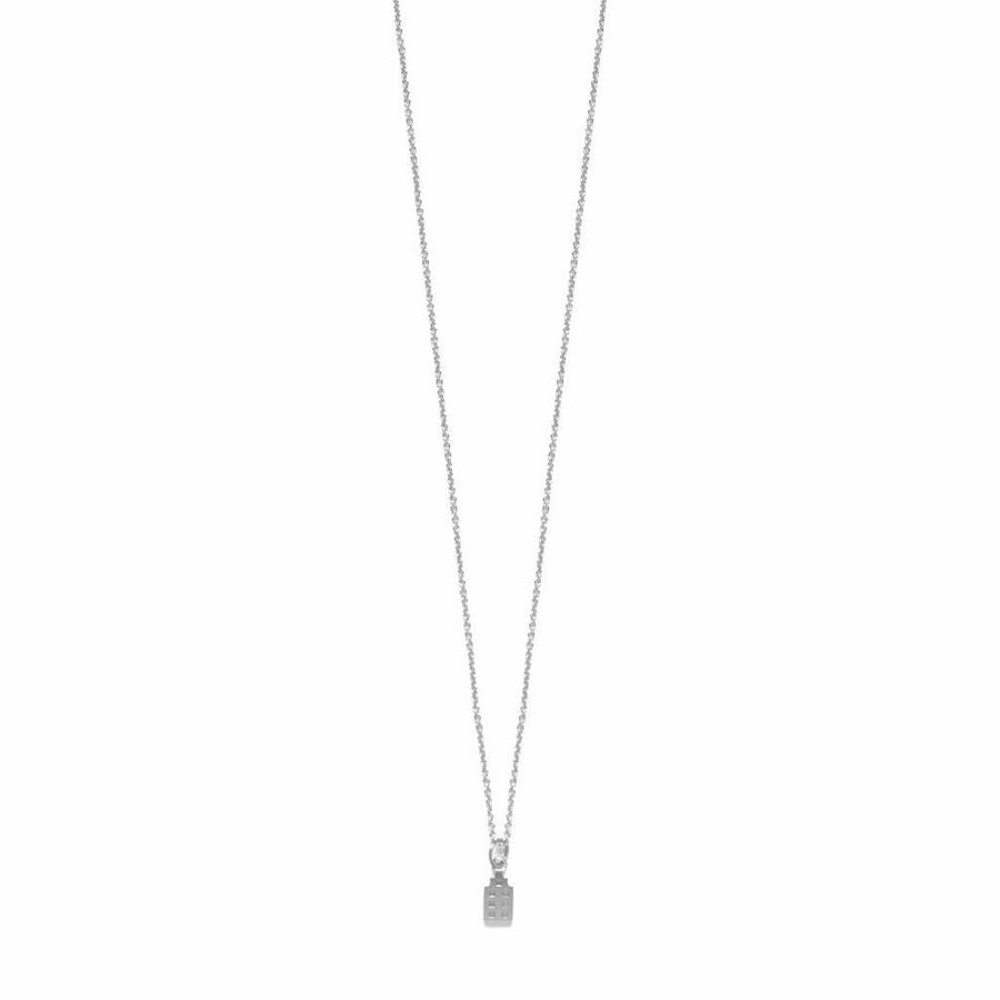 The Jordaan Necklace Silver