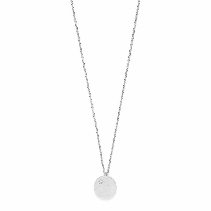 Clear Ketting Zilver