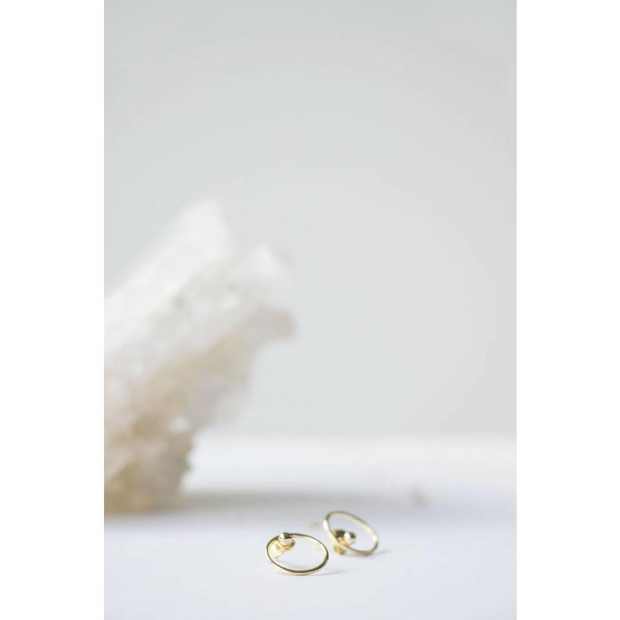Ace Studs Gold