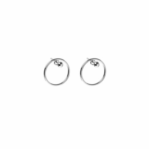 Ace Studs Silver