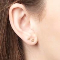 thumb-Rise and Shine Studs Gold-2