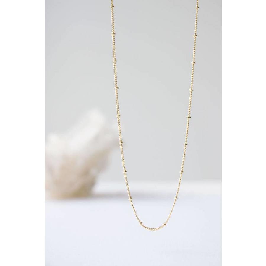 Balance Necklace Silver-3