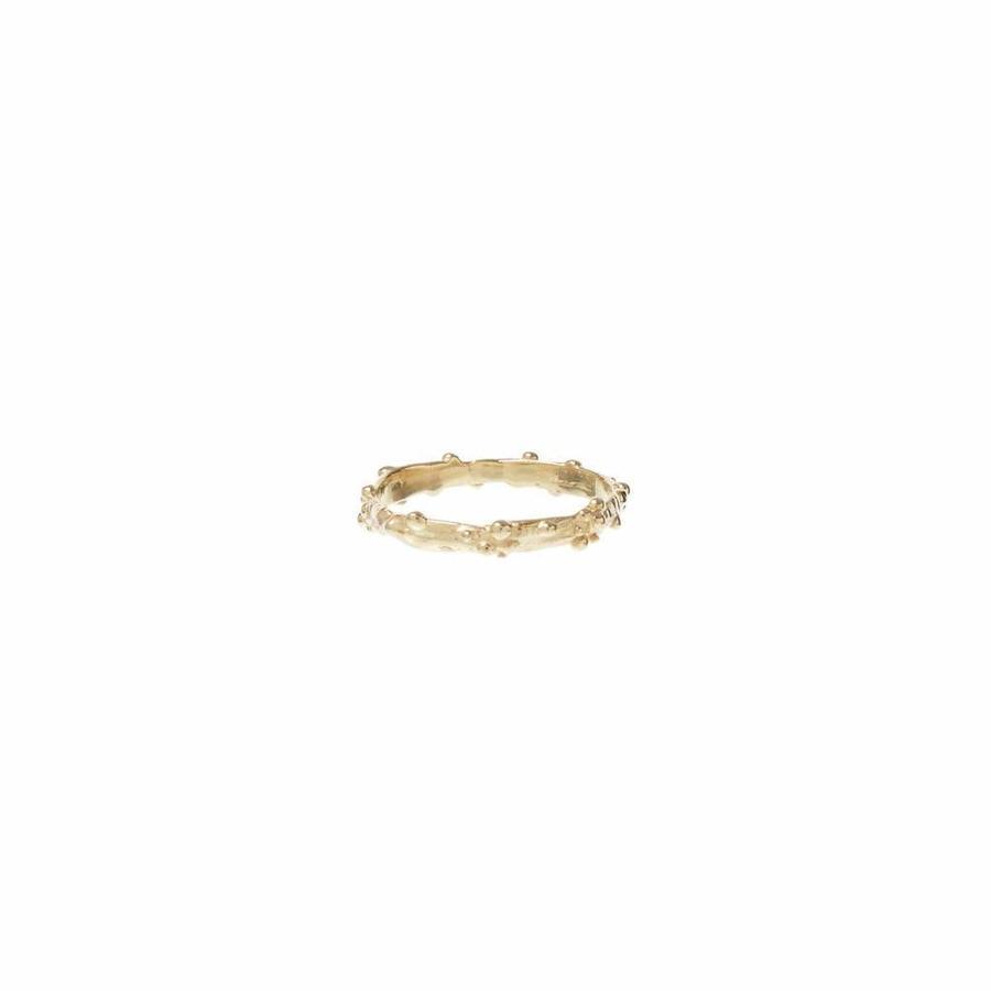 Droplet Ring Goud-1