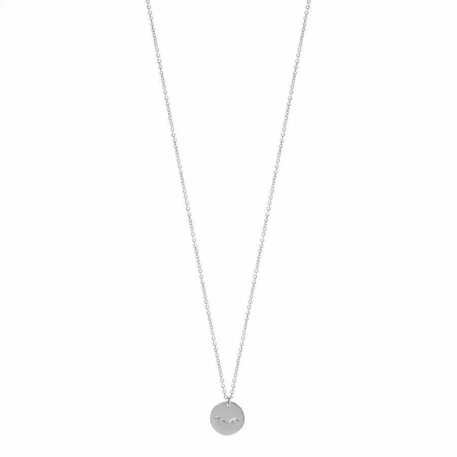 Unwind Necklace Silver-1