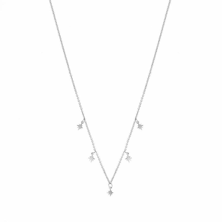 Stellar Necklace Zilver-1