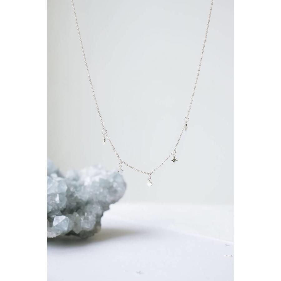 Stellar Necklace Zilver-3