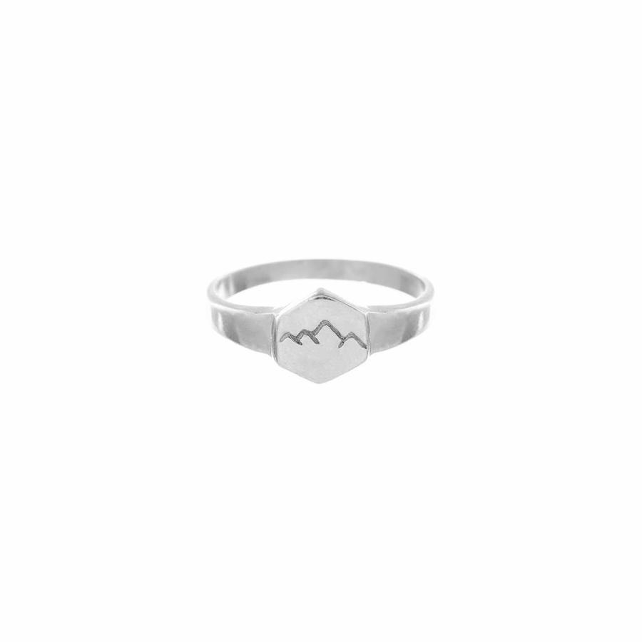 Scenic Signet Ring Zilver-1