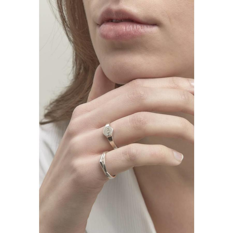 Scenic Signet Ring Silver-2