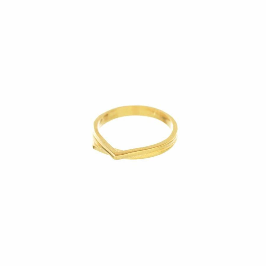 Mountain Ring Goud-1