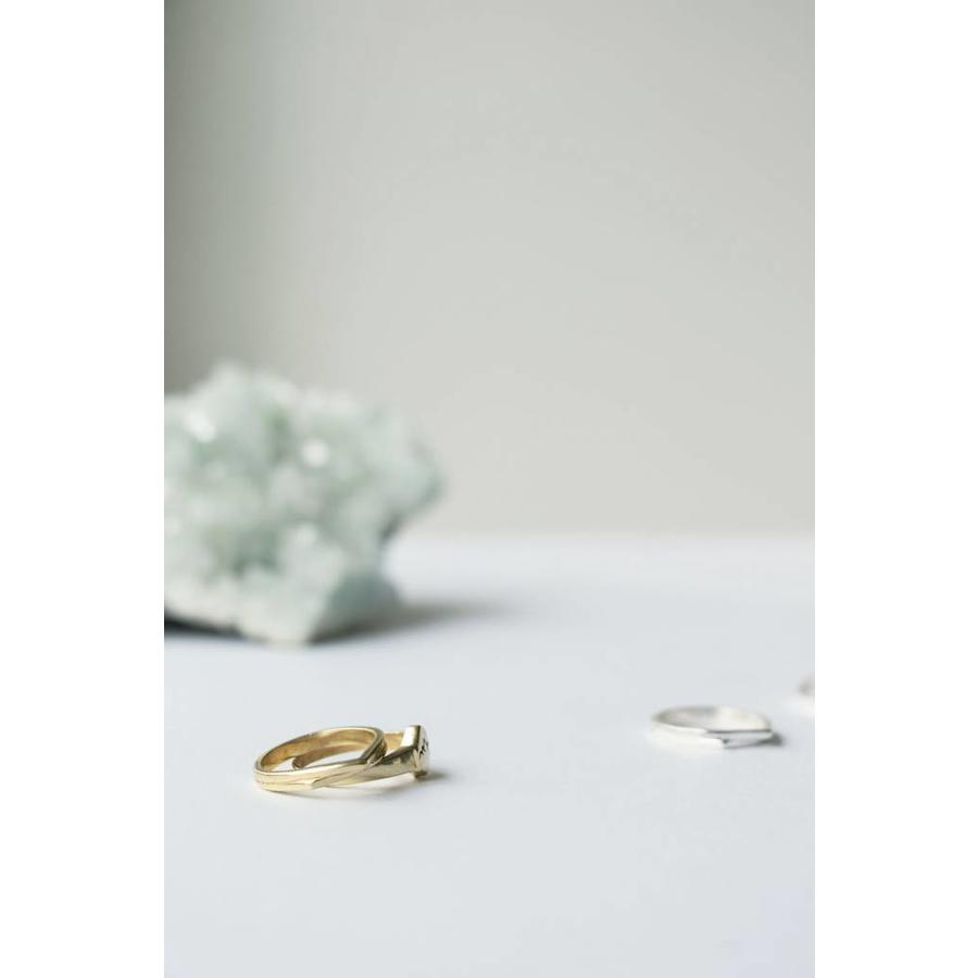 Mountain Ring Goud-3