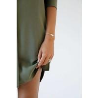Wander armband Goud