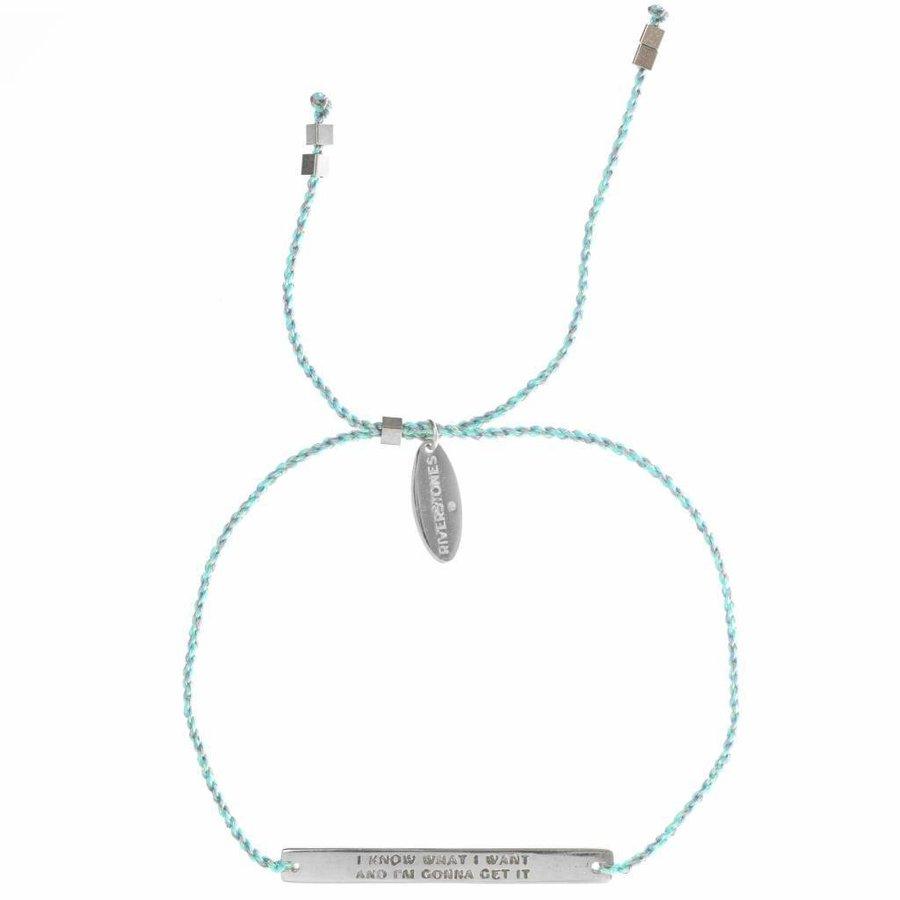 Own it bracelet Zilver