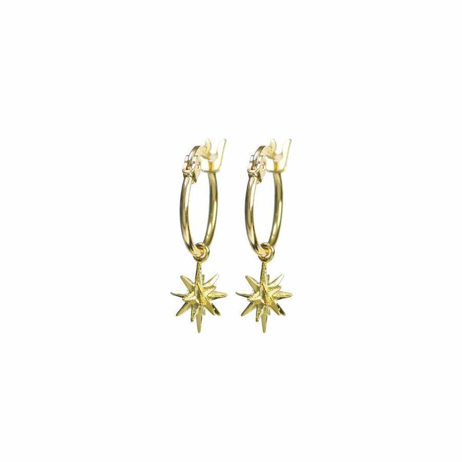 Rise Earrings Gold-1