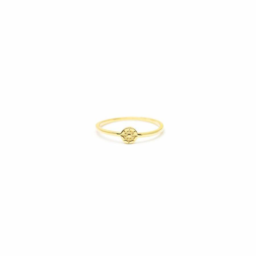 Compass Ring Goud