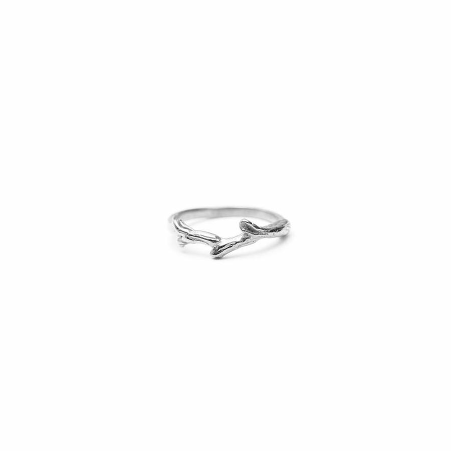 Breathe Ring Zilver