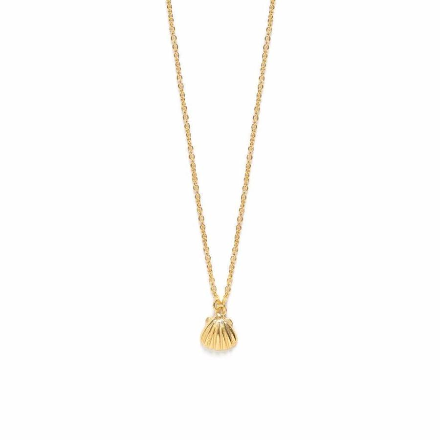 Shell Necklace Gold-1
