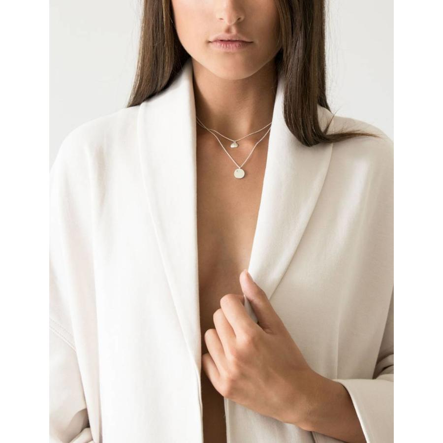 Shell Necklace Gold